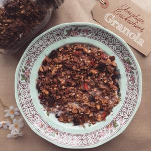 Chocolate buckwheat