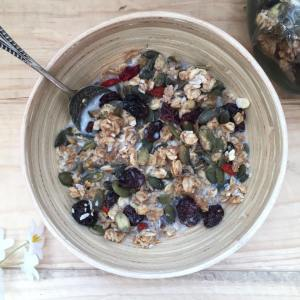 Lemon and Ginger Granola